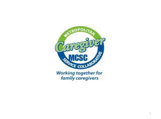 2002 Metropolitan Caregiver Network