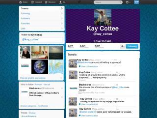 Kay Cottee @kay_cottee Love to Sail.