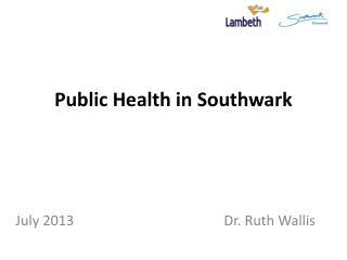 Public Health in Southwark