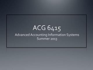 ACG 6415