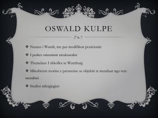 Oswald  Kulpe