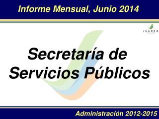 Informe Mensual ,  Junio  2014