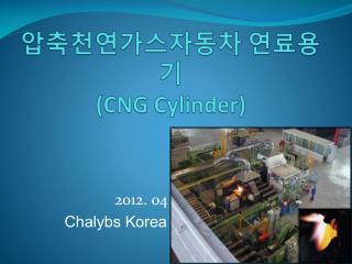 압축천연가스자동차 연료용기 (CNG Cylinder)