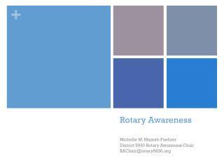 Rotary Awareness