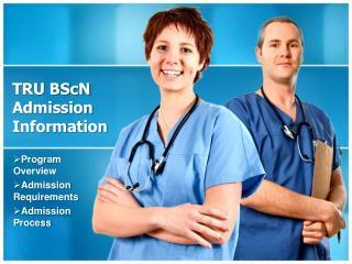 TRU BScN Admission Information