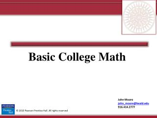 Basic College Math