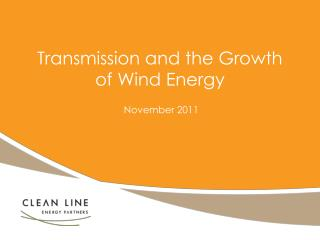 Transmission and the Growth of Wind Energy