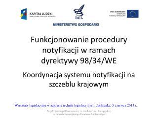 Warsztaty legislacyjne w zakresie technik legislacyjnych, Jachranka, 5 czerwca 2013 r.