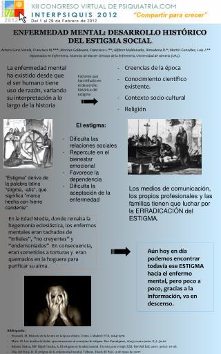 ENFERMEDAD MENTAL: DESARROLLO HISTÓRICO DEL ESTIGMA SOCIAL