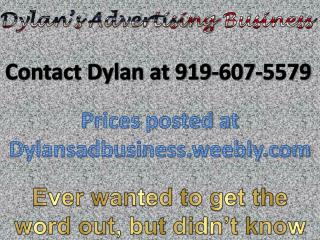 Dylan's Advertising  Business