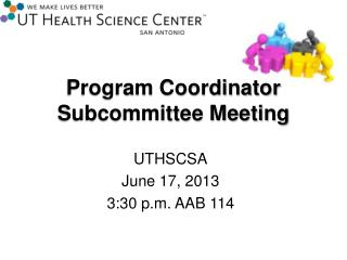 Program Coordinator Subcommittee Meeting
