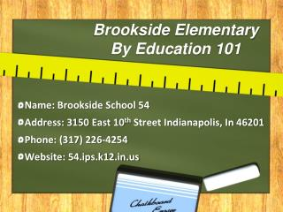 Brookside Elementary By Education 101