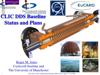 C LIC DDS Baseline  Status and Plans