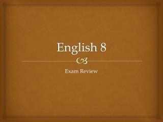 English 8