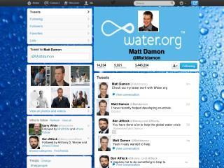 Matt Damon @ Mattdamon
