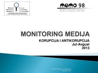 MONITORING MEDIJA