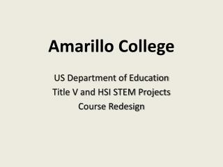 Amarillo College