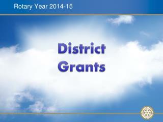 Rotary Year 2014-15