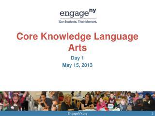 Core Knowledge Language Arts