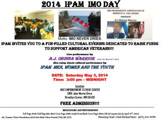 2014  IPAM  IMO DAY