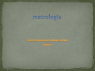metrolog�a