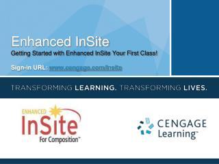 Enhanced InSite