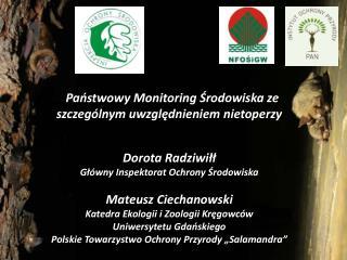 1991 r. Państwowy Monitoring Środowiska (PMŚ)