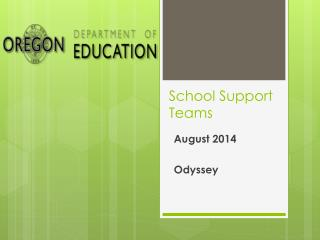 School Support Teams