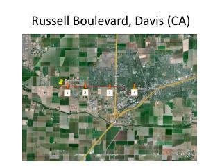 Russell Boulevard, Davis (CA)
