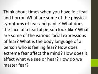 fear macbeth
