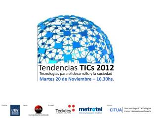 Tendencias  TICs 2012