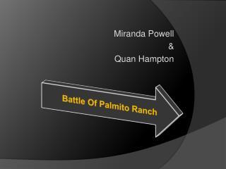 Miranda Powell & Quan  Hampton