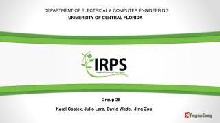 DEPARTMENT OFELECTRICAL & COMPUTER ENGINEERING