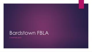Bardstown FBLA