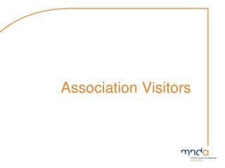 Association  Visitors