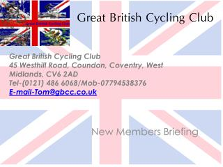 G reat British Cycling Club
