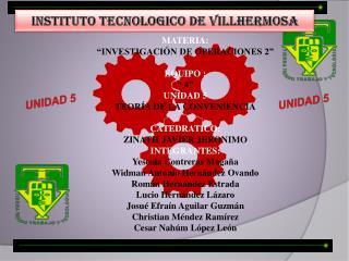 INSTITUTO TECNOLOGICO DE VILLHERMOSA