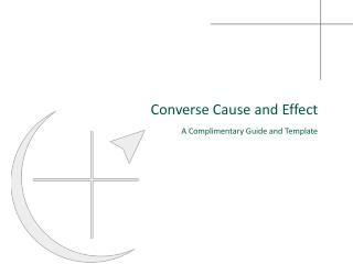 Converse Cause and Effect