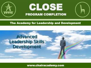 Close Program Completion