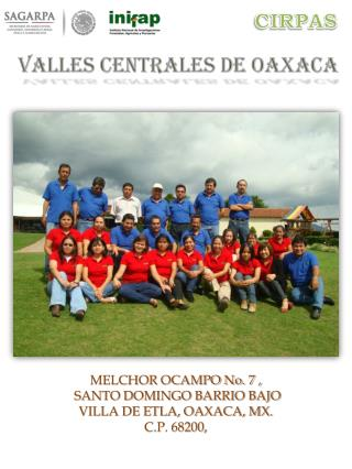 VALLES CENTRALES DE OAXACA