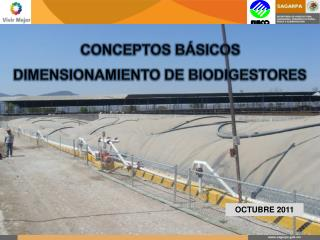 CONCEPTOS BÁSICOS  DIMENSIONAMIENTO DE BIODIGESTORES