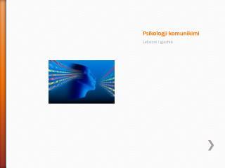 Psikologji komunikimi