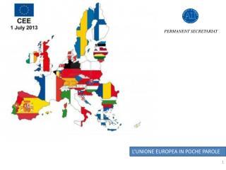 STRATEGIA EUROPEA PER LA REGIONE ADRIATICO – IONICA (EUSAIR)