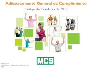Código de Conducta de MCS