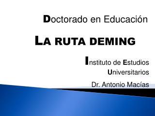 Doctorado en Educaci n