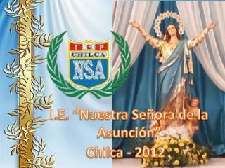 """I.E. """"Nuestra Señora de la Asunción"""""""