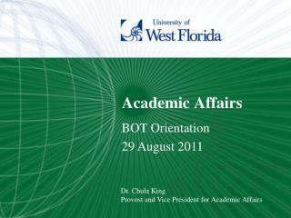 Academic Affairs