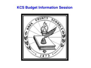 KCS Budget Information Session