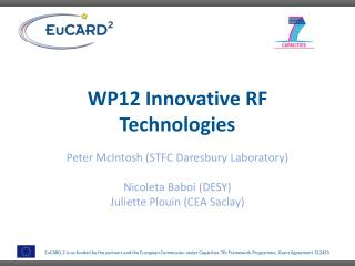 WP12 Innovative RF Technologies