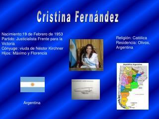 Cristina Fern??ndez